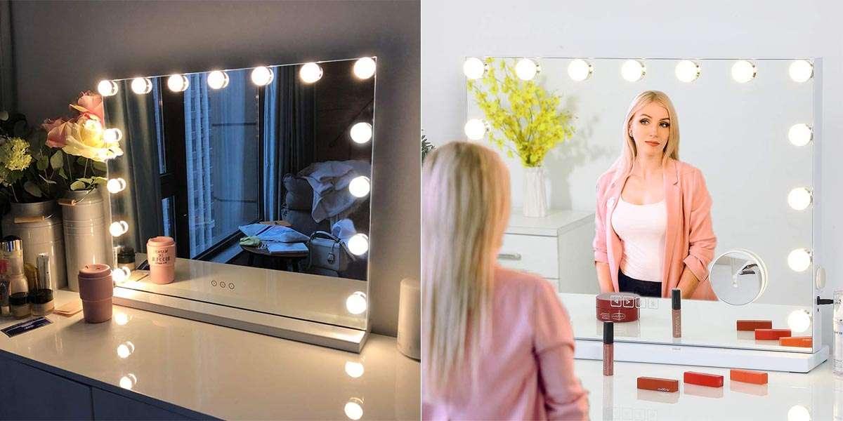 17 Best Lighted Makeup Mirrors Er S