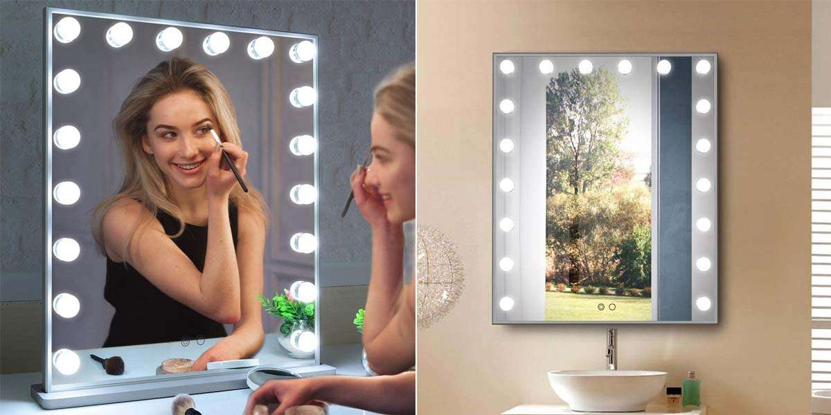 17 Best Lighted Makeup Mirrors Er S