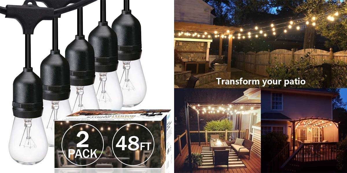10 Best Outdoor String Lights 2020 Complete Guide Penglight