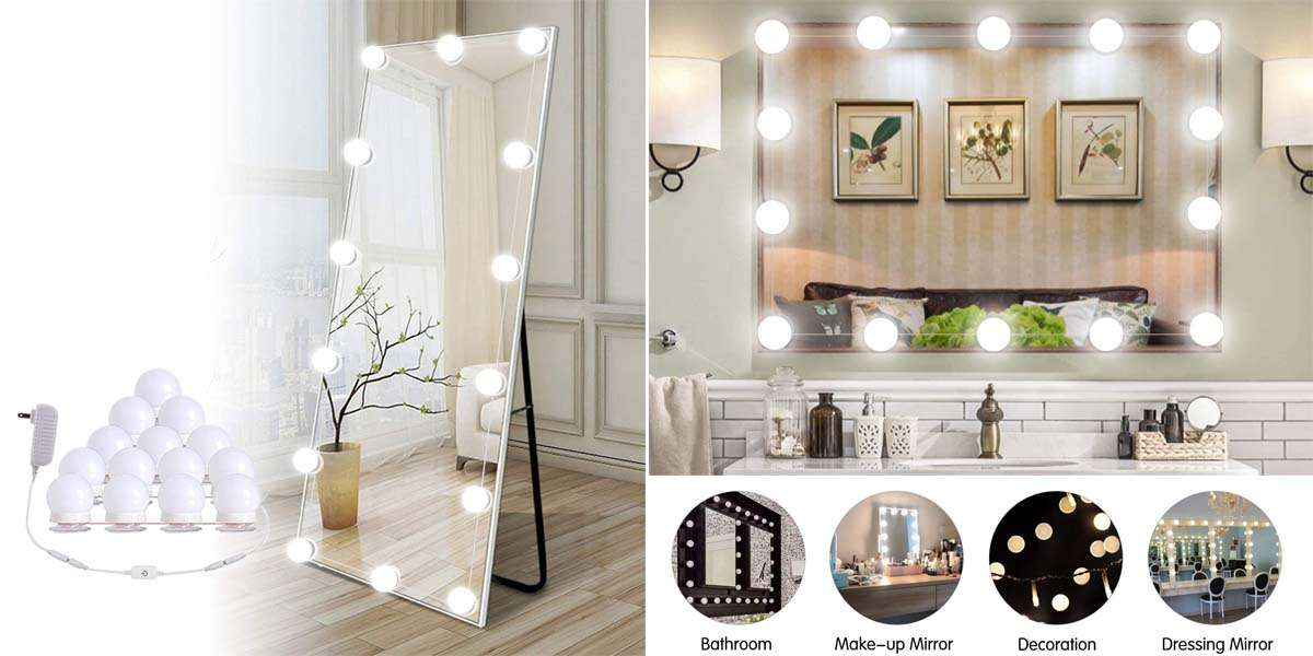 8 Best Stick On Mirror Lights Complete Guide Penglight